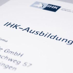 Urkunde IHK