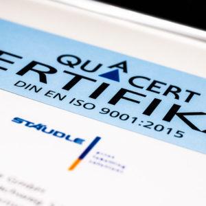 Urkunde Quacert